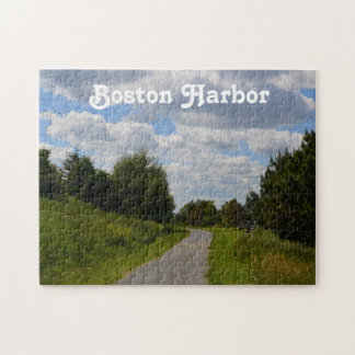 Spectacle Island in Boston Harbor Jigsaw Puzzle