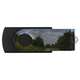 Spectacle Island in Boston Harbor Swivel USB 2.0 Flash Drive
