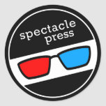 Spectacle Press Sticker