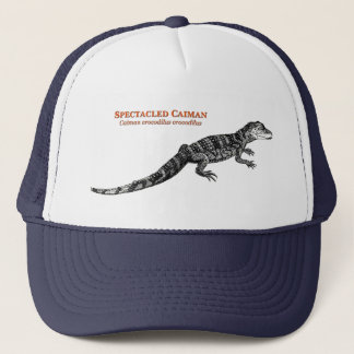 Spectacled Caiman Trucker Hat