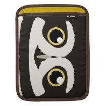 Spectacled Owl iPad Sleeve
