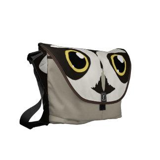 Spectacled Owl Messenger Bag