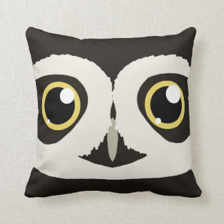 Spectacled Owl Pillow