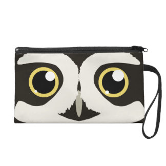 Spectacled Owl Wristlet