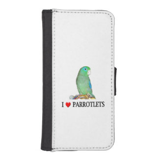 Spectacled Parrotlet iPhone 5 Wallets