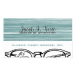 Spectacles Eyewear Optometry Vision Modern Double-Sided Standard Business Cards (Pack Of 100)