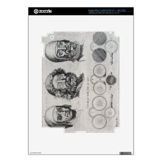 Spectacles for All Strengths of Vision (engraving) Decal For iPad 3