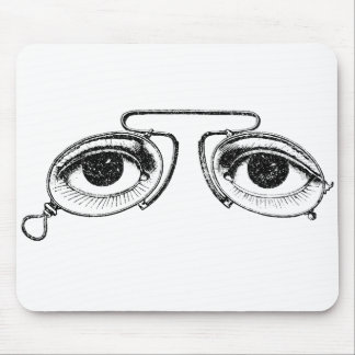 Spectacles Mouse Pad