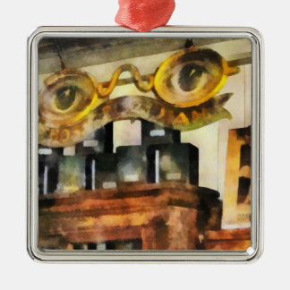 Spectacles Shop Christmas Tree Ornament
