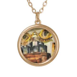 Spectacles Shop Round Pendant Necklace