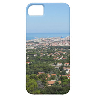 Spectacular aerial panorama of Livorno city, Italy iPhone SE/5/5s Case