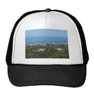 Spectacular aerial panorama of Livorno city Trucker Hat