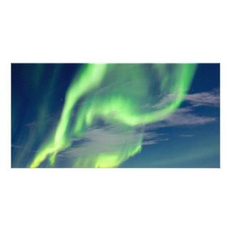 Spectacular Aurora borealis Northern Lights Card