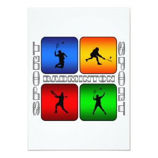 Spectacular Badminton Card