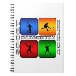 Spectacular Badminton Notebook