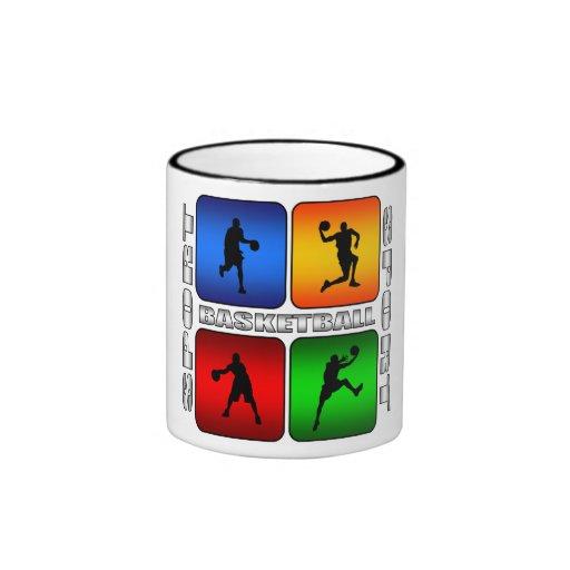 Spectacular Basketball Coffee Mugs