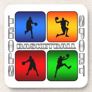Spectacular Basketball Drink Coasters