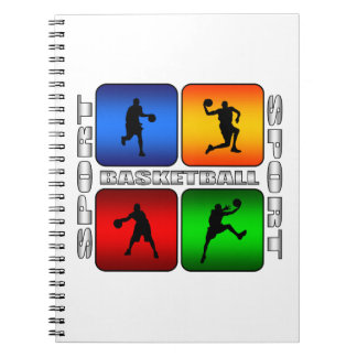 Spectacular Basketball Note Books