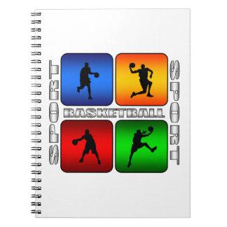 Spectacular Basketball Spiral Notebook