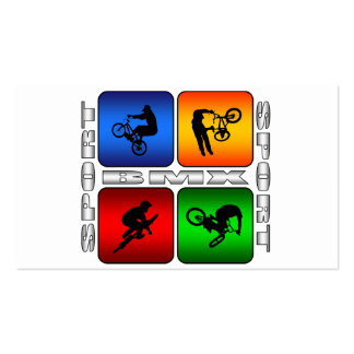 Spectacular BMX Double-Sided Standard Business Cards (Pack Of 100)