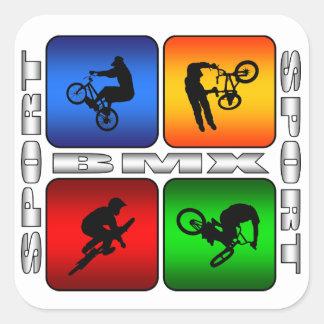 Spectacular BMX Square Sticker