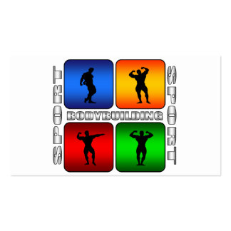 Spectacular Bodybuilding Double-Sided Standard Business Cards (Pack Of 100)