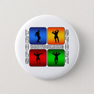 Spectacular Bodybuilding Button
