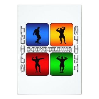 Spectacular Bodybuilding Card