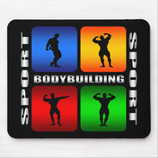 Spectacular Bodybuilding Mouse Pad