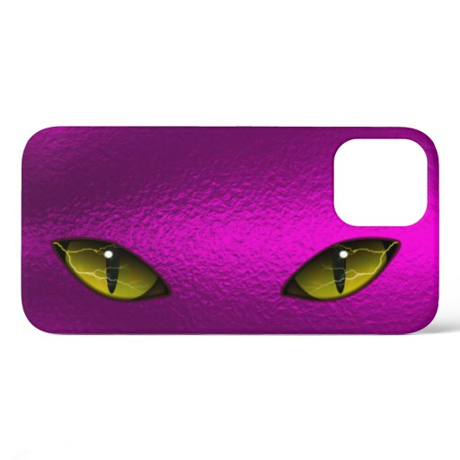 Spectacular Cat's Eye Lightning Design iPhone 12 Case
