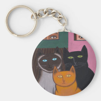 Spectacular Cats 2 Keychain