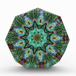 Spectacular Color Peacock Feather Kaleidoscope Awards