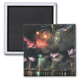 Spectacular Fireworks Fridge Magnet