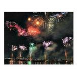 Spectacular Fireworks Postcards