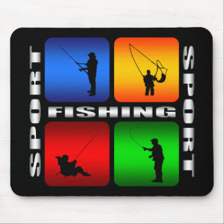 Spectacular Fishing Mouse Pad