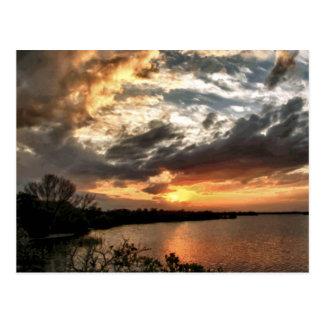 Spectacular Florida Sunset Postcard