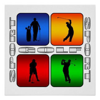 Spectacular Golf Poster