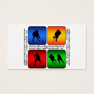 Spectacular Hockey Business Card