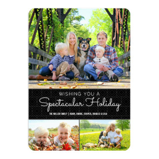 Spectacular Holiday 5x7 Card | Flat
