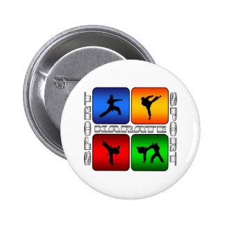Spectacular Karate Pinback Buttons