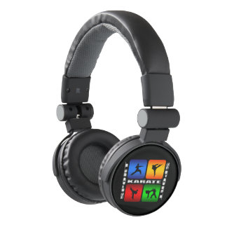 Spectacular Karate Judo Kung Fu Ninja Martial Arts Headphones