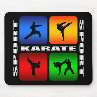 Spectacular Karate Mouse Pad