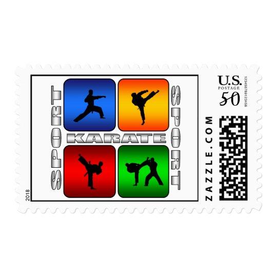 Spectacular Karate Postage