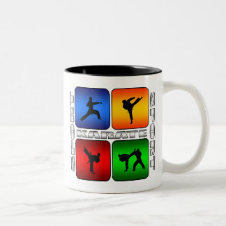 Spectacular Karate Two-Tone Coffee Mug