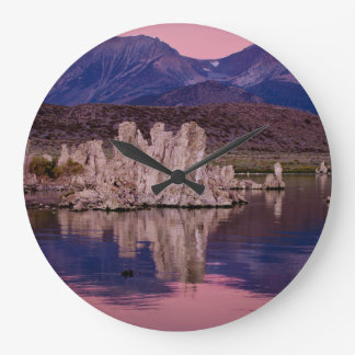 Spectacular Mono Lake In The Shadow Large Clock
