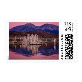 Spectacular Mono Lake In The Shadow Postage