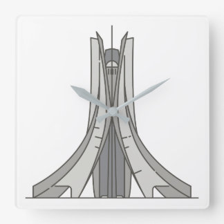 Spectacular Monument of the Martyrs World landmark Square Wall Clock