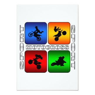 Spectacular Motocross Card