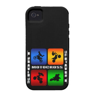 Spectacular Motocross Vibe iPhone 4 Cover