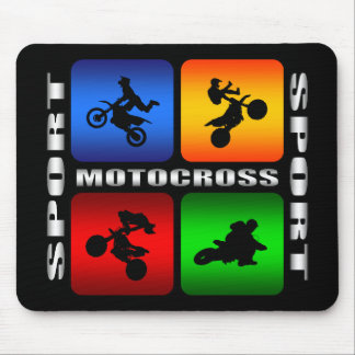 Spectacular Motocross Mouse Pad